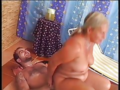 Gorgeous granny rimms coupled with fucks a guy!