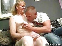 Victorian Pussy Granny Basic Plus Cock Sucks