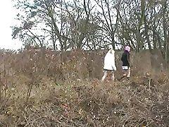 Superannuated Couple Fucking Railway Battle-axe (No Sound)