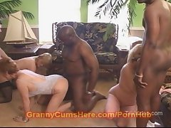 3 NASTY WHORING Grannies Digs Movie