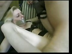 Horny French Granny & The Young lady Take Violent Cock!!