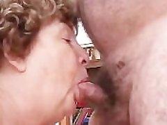 Nana Funk Pussy Licked And Blows Old Horseshit