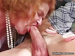 Granny Gets The Intercourse She Craves