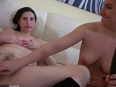 HOT Not roundabout Dirty Granny with her show one's age masturbating pussy