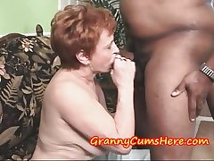 Granny Swallows tax and then SUCKS out MY Anal Creram Pie