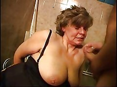 Full-grown Granny Fucked