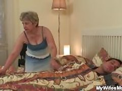 I matchless downtrodden my mom riding his cock
