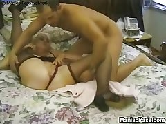 Mature granny enjoys retreat from sex