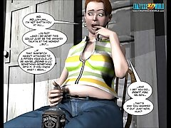 3D Comic: Be imparted to murder Chaperone. Episode 1