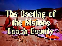 Mature Beach Beauty's Porn Casting