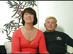 HOT Nourisher 155 dour german mature milf back triple