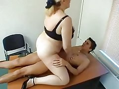 Big Tit Mature Gets Fucked vanguard Office