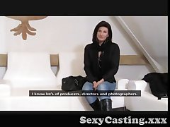 Casting - Mature pamper controls the audition