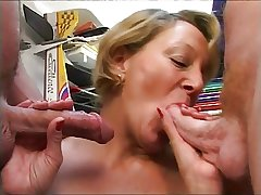 French Adult having a threesome