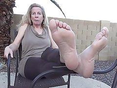 Katie Grown-up Feet