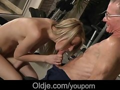 Age-old schlong Smoothness nails deep young tiny pussy
