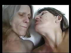 two mature lesbians and conscientious saggy tits