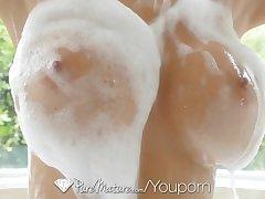 PureMature - Hot Milf Alexis Fawx congress a splash in the antiseptic