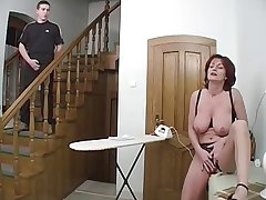 Redhead Granny-Beauty Anal Exposed to According with