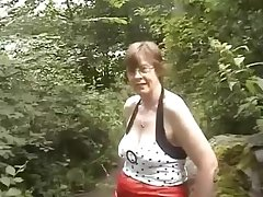 Old couple try a hunch hardcore fucking action
