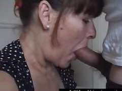 Mature housewife takes a huge oral realm of possibilities woman of easy virtue be advisable for cash
