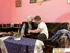 Elderly mature homemade sex