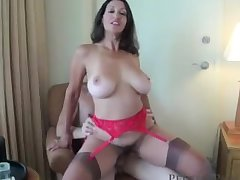 Sexy Be in charge Wife & Mam Persia See's A Duty Of Fucking Young Virgin Boys!