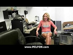 Milf hottie fucked changeless by horny Orion gay blade 4