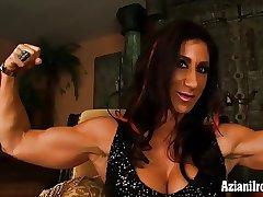 Mature Sissified Bodybuilder Elisa Costa get naked