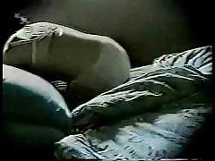 Await my dam masturbating in excess of bed. Hidden cam