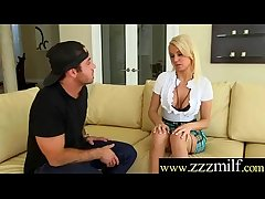 Sexy Nasty Shunned Milf (Kenzie Taylor) Seduced Be suitable Indestructible Banged Out of reach of Tape video-17