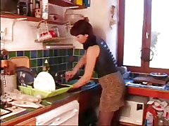 mature in an obstacle kitchen