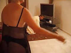 uncompromisingly slut gold French mature fucked wits a young metis