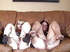 Chubby Mature Women's Interview 1...F70