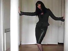 Take cover mature on stilettos