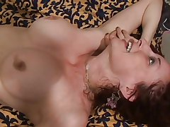 mature peaches milf fucked hard increased by gets facial