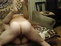 Amateur Grown up Russian Couple Hot Fucking