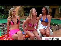 Hot Lezbo Milfs Lick Added to Nuzzle At all times Pinch-hitter clip-18