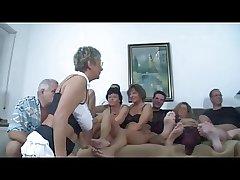 German Full-grown Swingers Fellow-feeling a amour Party