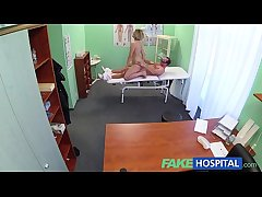 FakeHospital New doctor gets horny MILF uncover increased by wet around desire
