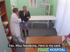 FakeHospital Surprising mature pretty consenting patient gets the consenting doctors load of shit
