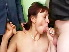 Russian Garbage Matured And Many Dicks