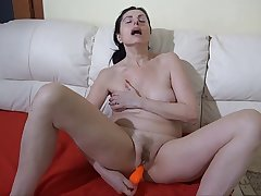 OLDNANNY: BBW granny loves anal Aged granny fucked hard by her you