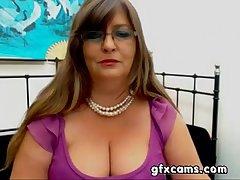 Grown-up BBW Greek Woman Strips Teases Cam