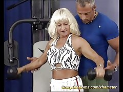 muscle mom fucking