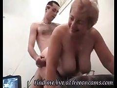Hardcore Granny Mating