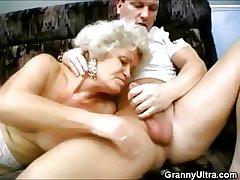 Nasty Triptych Grannies