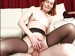 Anal Granny adjacent to Open pantyhose Fucks