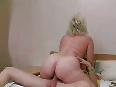 Russian MILF coupled with guy - 20