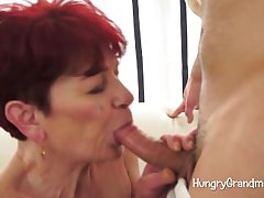Sexual Granny Seduces A Youngster